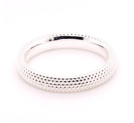 Ring Silber mit Kügelchen