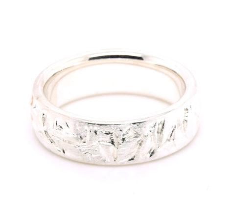Ring Silber Struktur