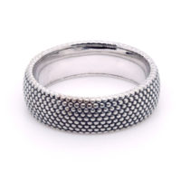 Ring Silber Dots