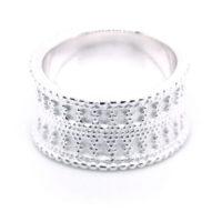 Ring Silber mit Verzierung