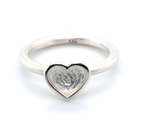 Ring Silber Herz