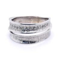 Ring Silber rhodiniert Zirkonia