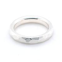 Ring Silber matt