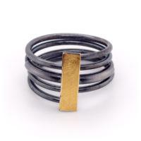 Ring oxidiert Feingold