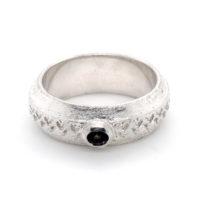 Ring Silber Rauchquarz