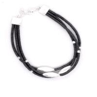 Armband Silber oxidiert