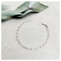 BLICKWINKEL KARLSTADT Armband Silber Paperclip