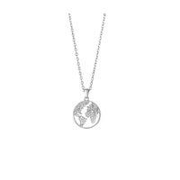 Weltkette Silber mit Zirkonia