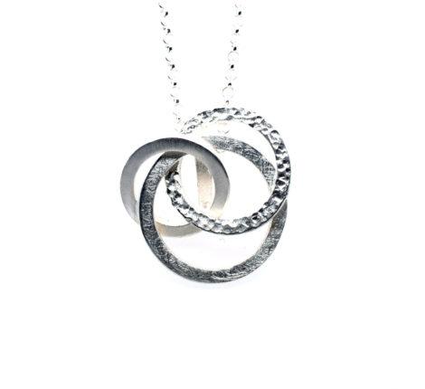 Kette Silber Ringe