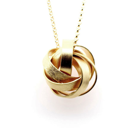 Kette vergoldet Ringe