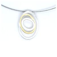 Collier Silber Kringel Feingold