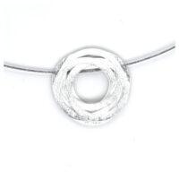 Collier Silber Kreise