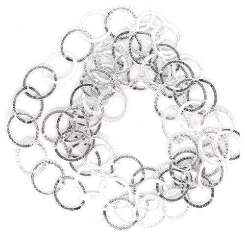 Collier Silber Ringe