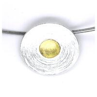 Blickwinkel Karlstadt Collier Silber vergoldet