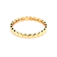 Ring Gelbgold Sechsecke