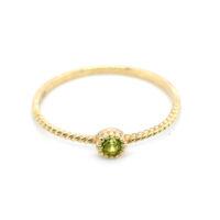 Ring Gelbgold Peridot