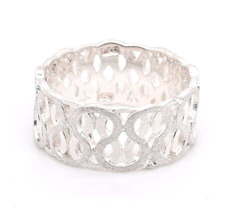 Ring Silber Ranken