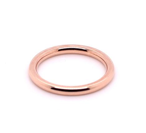 Ring rosévergoldet